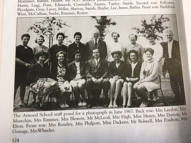 Atwood staff in June 1967
